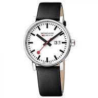 Mondaine Men's evo2 40 mm sapphire Big Date Watch