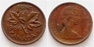 Kanada 1 cent 1966r
