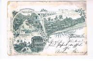 Pocztowka , obieg/1897 r. , Nicaragua,