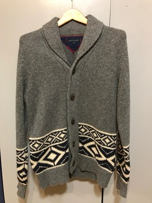 Sweter TOMMY HILFIGER KARDIGAN LAMBSWOOL S