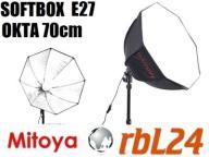 Softbox Mitoya oktagonalny E27 70cm Kraków