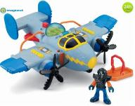 FISHER PRICE IMAGINEXT TORNADO SAMOLOT X5250 24h
