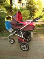 Wózek quinny 3w1