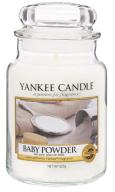 Yankee Candle - Świeża - Baby Powder - Duży Słoik