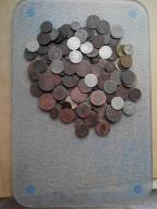 zestaw starych monet oryginały ok 100 szt./srebro/
