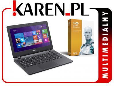 Laptop ACER ES1-131 Intel 4x2.4GHz 4GB Win8 +NOD