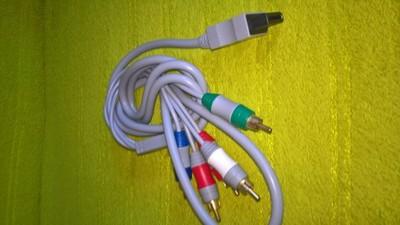 KABEL TV COMPONENT Wii GOLD,GRATIS SMYCZ, 2 x ETUI