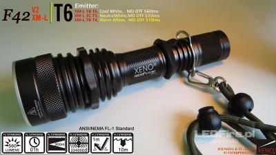 Latarka LED XENO F42 V2 XM-L 535lm