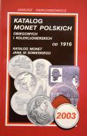 Parchimowicz Katalog monet polskich 2003