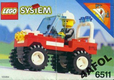 Lego City Straż Pożarna Wóz Strażacki 6511 6440154414 Oficjalne