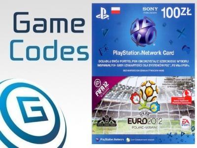 100 ZŁ PSN KARTA PRE-PAID PLAYSTATION NETWORK 24/7