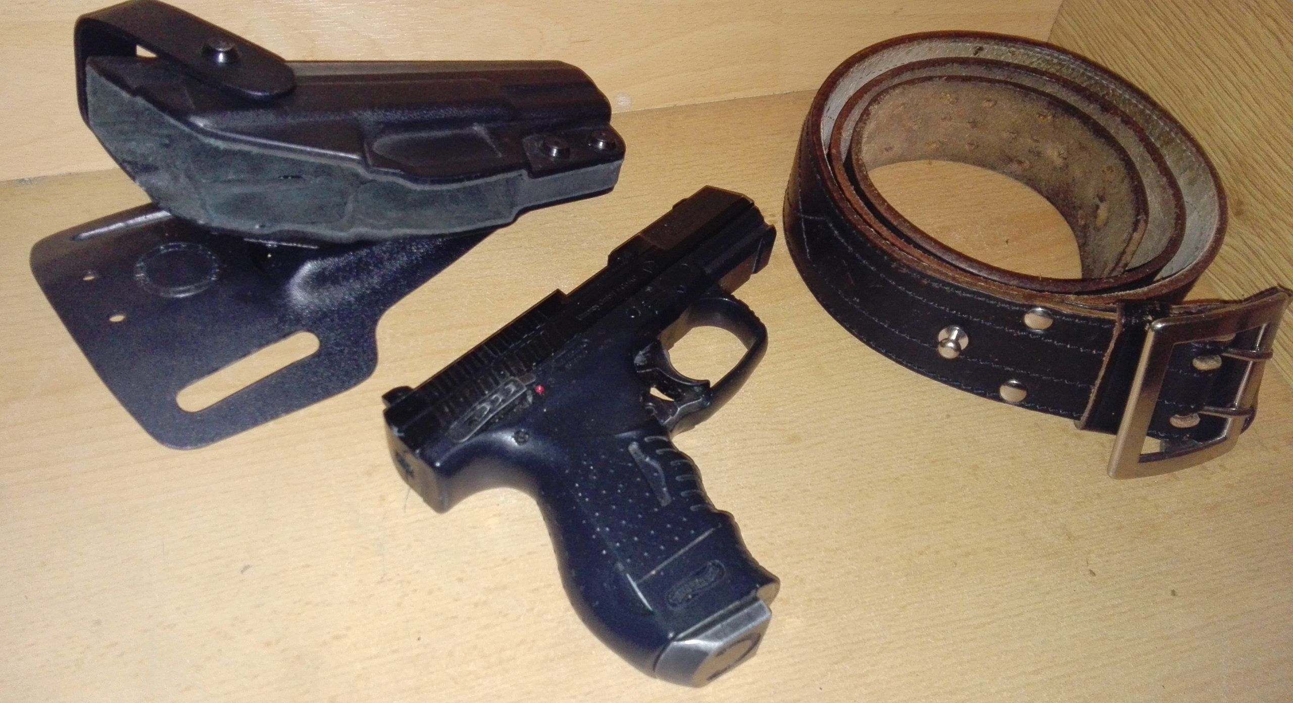 Pistolet Walther CP99 compact Blow-Back CO2 4,5mm