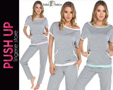 d51561b46db9c4 Italian Fashion piżama damska Abba bawełna / S - 6299913392 ...