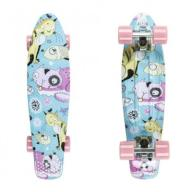 Fishka CATS/SILVER/SUM PINK Fish Skateboards Wwa