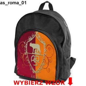 tani Gdzie mogę kupić dobra jakość Szkolny plecak AS ROMA turystyczny różne wzory - 5589422117 ...