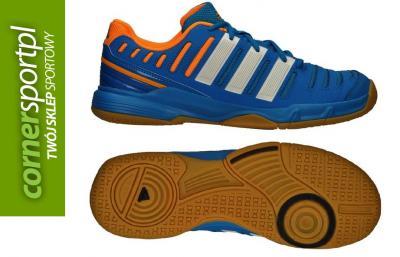 Buty halowe Adidas Essence 11 niebieskie 44