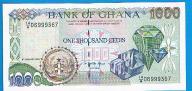 Ghana 1000 cedis 1995 P. 29b stan UNC*