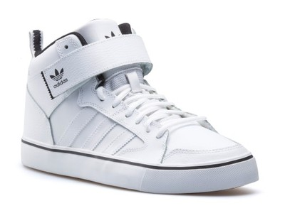 2017 Buty męskie adidas Originals Varial II Mid F37483 Białe
