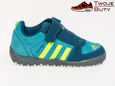 04435ec1f94b2f Buty dziecięce Adidas Daroga Lea Cf l r. # 27 - 4570782029 ...