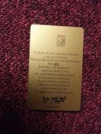 Złota karta RRR 2KD