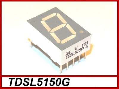 Wyswietlacz czerwony 7-SEG 13mm TDSL5150G #B004c