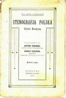 STENOGRAFJA POLSKA WYD. 1925 A.R.WOJNAR