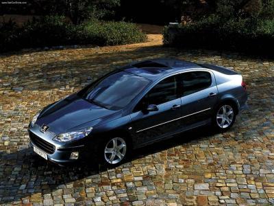 Nakladki Na Klamki Stalowe Peugeot 407 2004 2010 5619193922 Oficjalne Archiwum Allegro