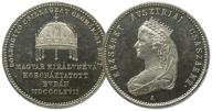 24.WĘGRY, KORONATKA ELŻBIETY-SISSI BAWARSKIEJ 1867