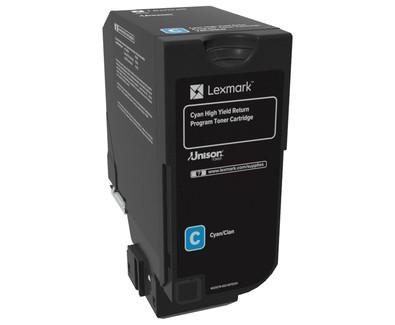 LEXMARK Toner CS725 CY 74C2HC0