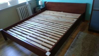 Rama łóżka Stelaż 160x200 Black Red White 6780531804