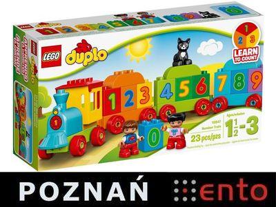 Lego Duplo 10847 Pociąg Z Cyferkami Poznań 6675516911 Oficjalne