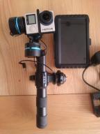 Gopro4 Black,Gimbal feiyutechG3,Monitor do gimbala