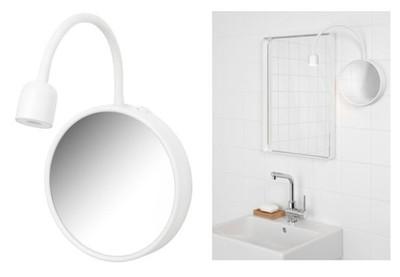 Ikea Blavik Lampa ścienna Oświetlenie Do łazienki