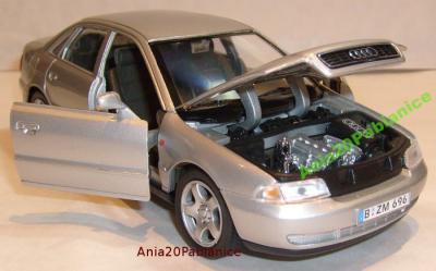 Audi A4 B5 Model Metalowy Welly 124 Autokolekcja 3132841775