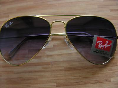 naklejka ray ban na okulary allegro