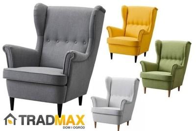 Ikea Strandmon Wygodny Stylowy Fotel 4 Kolory 6637459632