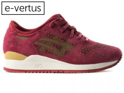 asics gel lyte iii bordowe