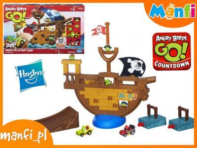 Hasbro Gra Angry Birds Go Jenga Statek A6439 5572927307 Oficjalne Archiwum Allegro
