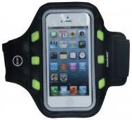 Armband opaska na ramię do biegania LED L czarna