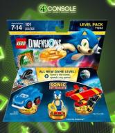 LEGO DIMENSIONS LEVEL PACK SONIC THE HEDGEHOG W-WA