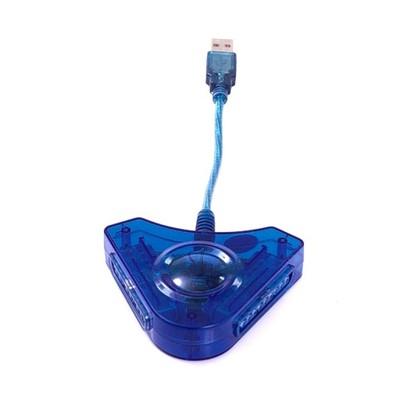 AK97A PRZEJŚCIÓWKA ADAPTER USB NA PSX / PS2 2 PADY