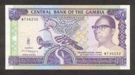 GAMBIA 50 Dalasi 1989-1995 P-15 UNC