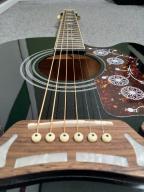 Gitara elektroakustyczna Epiphone EJ 200 CE BK !