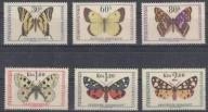 Czechosłowacja - Motyle