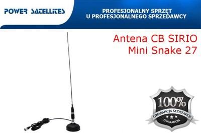 Antena CB SIRIO Mini Snake 27 mag + 2 GRATISY