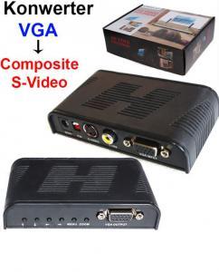 Konwerter Video VGA D-SUB - S-Video Composite FV!
