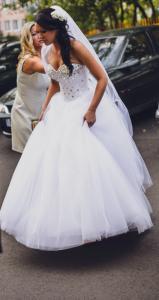 Suknia ślubna Princesska Piękny Gorset Z Kamieni 5708493185