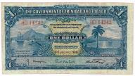 Trynidad & Tobago 1 Dolar 1939 rok, stan 3/3+