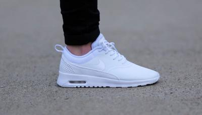 buty nike air max białę