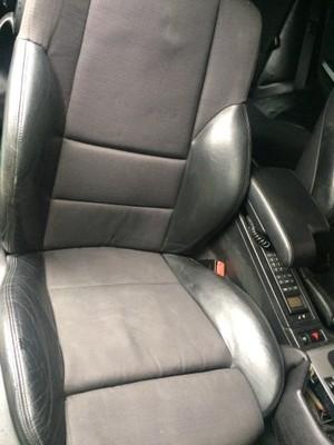 BMW E46 coupe fotele półskóra sportsitze
